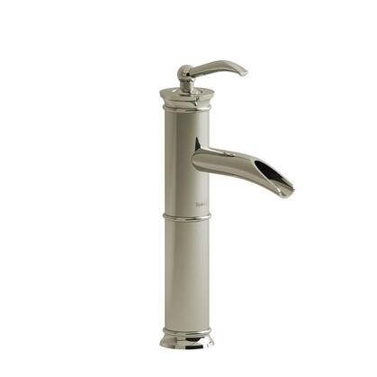 Antico AL0P1PN Single Hole Lavatory Open Spout Faucet with Lever Handle 1.5 GPM  in Polished