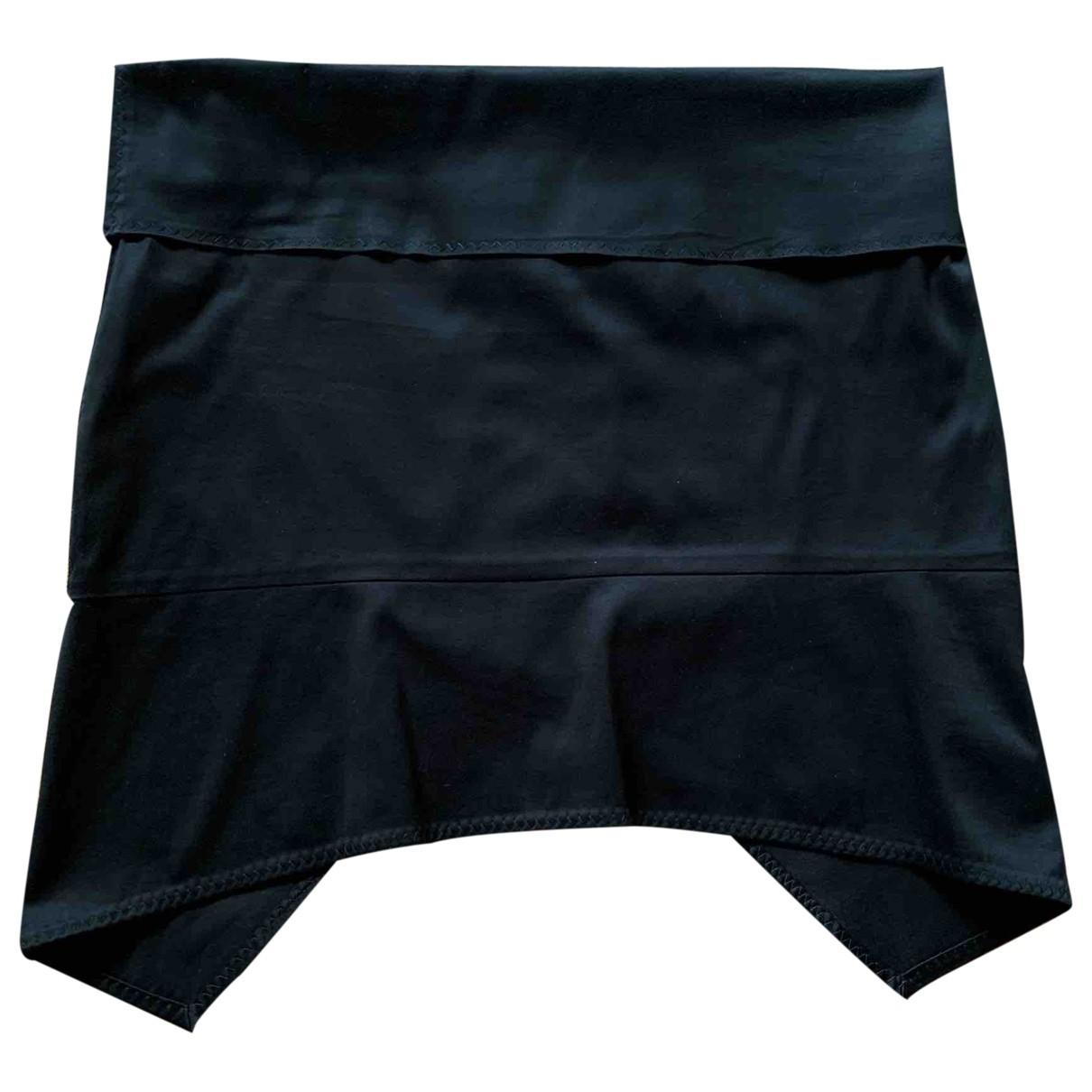 Gucci - Jupe   pour femme en coton - elasthane - noir