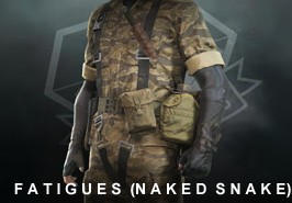 Metal Gear Solid V: The Phantom Pain - Fatigues (Naked Snake) DLC Steam CD Key
