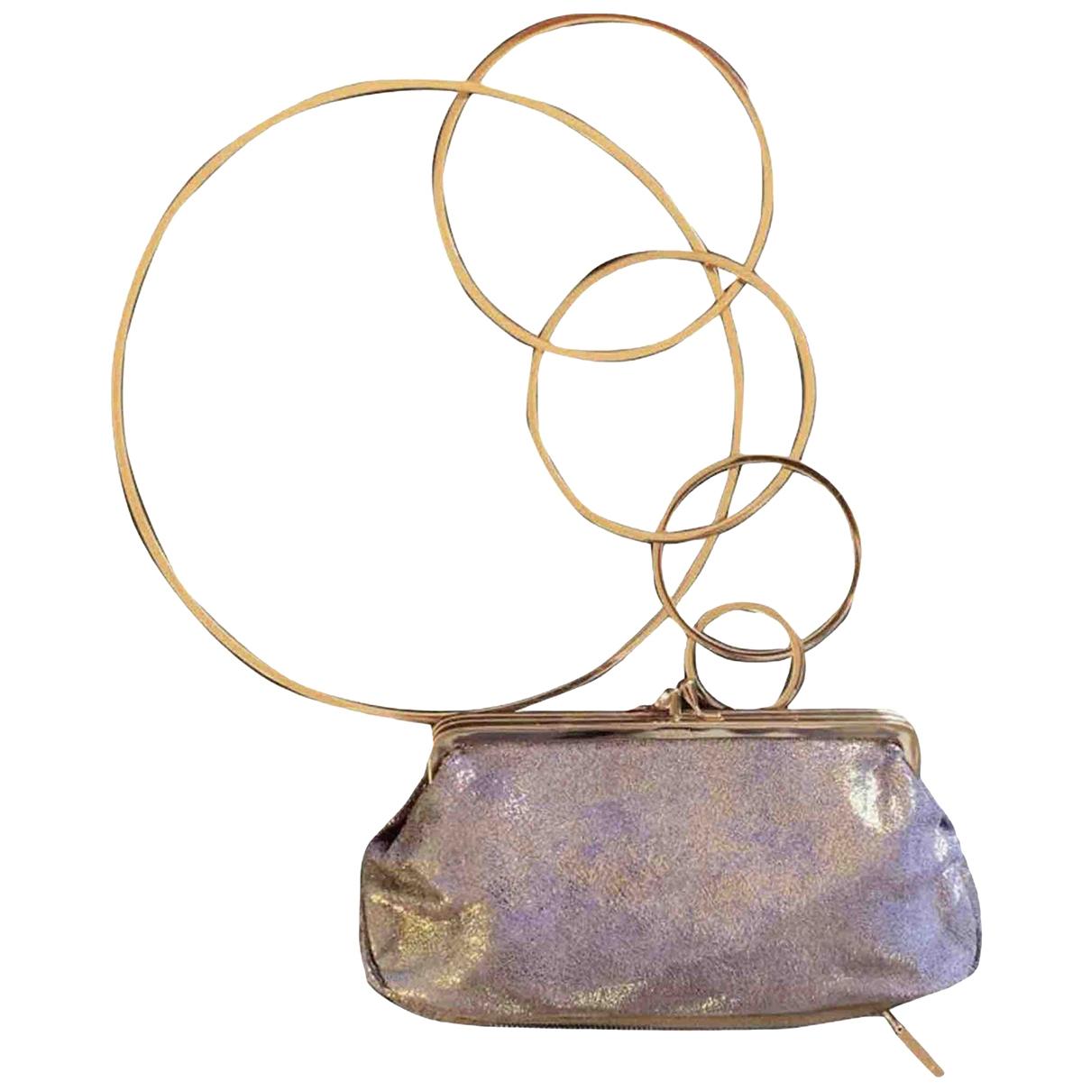 Fendi - Pochette   pour femme en cuir - violet