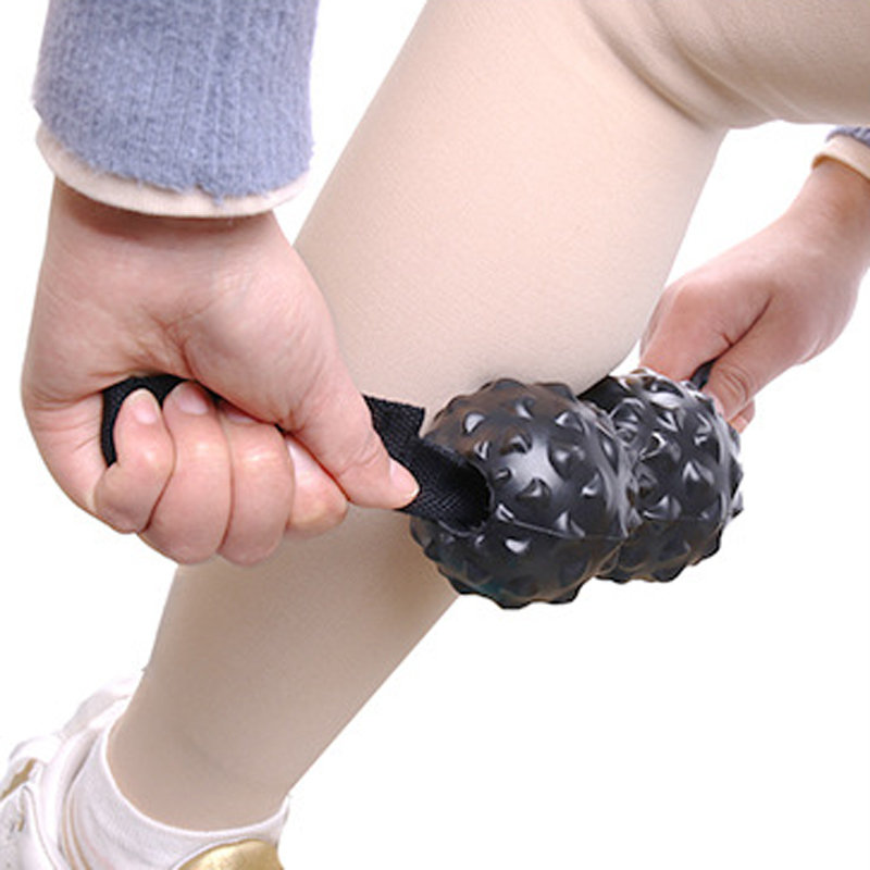 Peanut Yoga Massage Ball Muscle Relaxation Foot Point Meridian Massage Fitness Ball Health Care