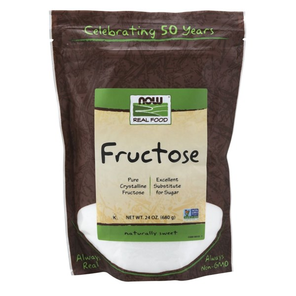 Fructose Fruit Sugar 24 oz by Now Foods
