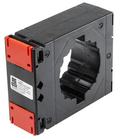RS PRO Clip Fit Current Transformer, , 80 x 12mm diameter , 1.2kA Input, 5 A Output, 1200:5