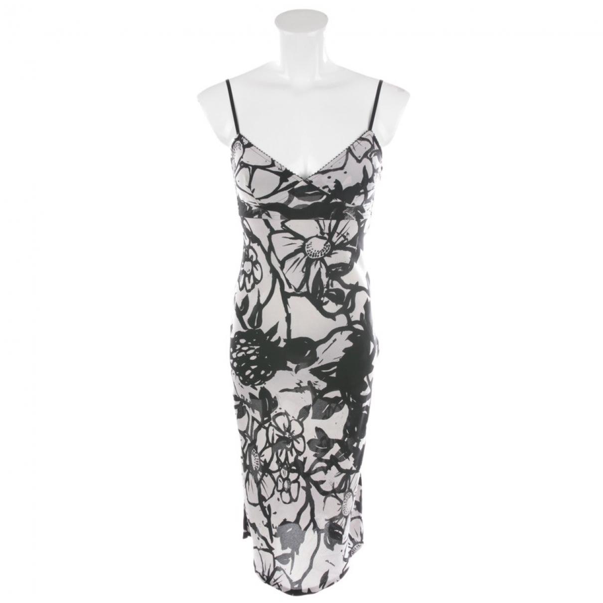 Gucci \N Grey Silk dress for Women 34 FR