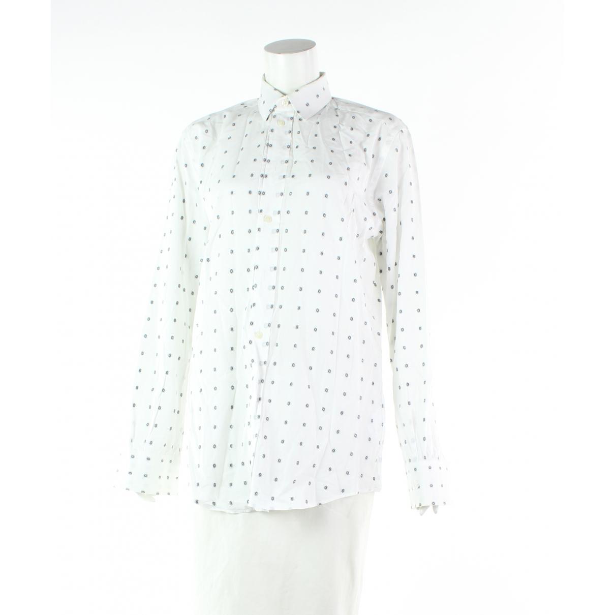 Dolce & Gabbana - Polos   pour homme en coton - blanc