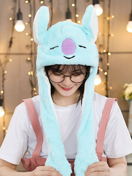 Milanoo Halloween Hat Rabbit Moving Hat Rabbit Ear Cosplay Costume Accessories