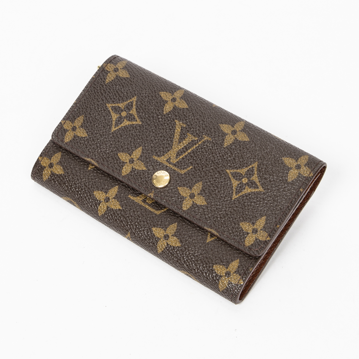 Louis Vuitton \N Brown Cotton wallet for Women \N