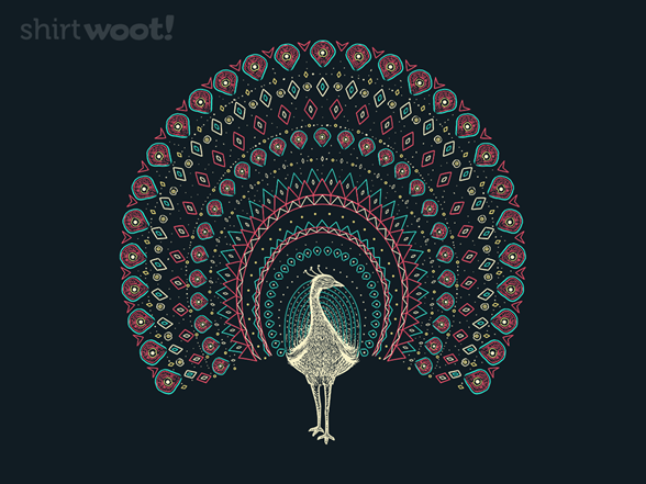 The Artful Peacock T Shirt