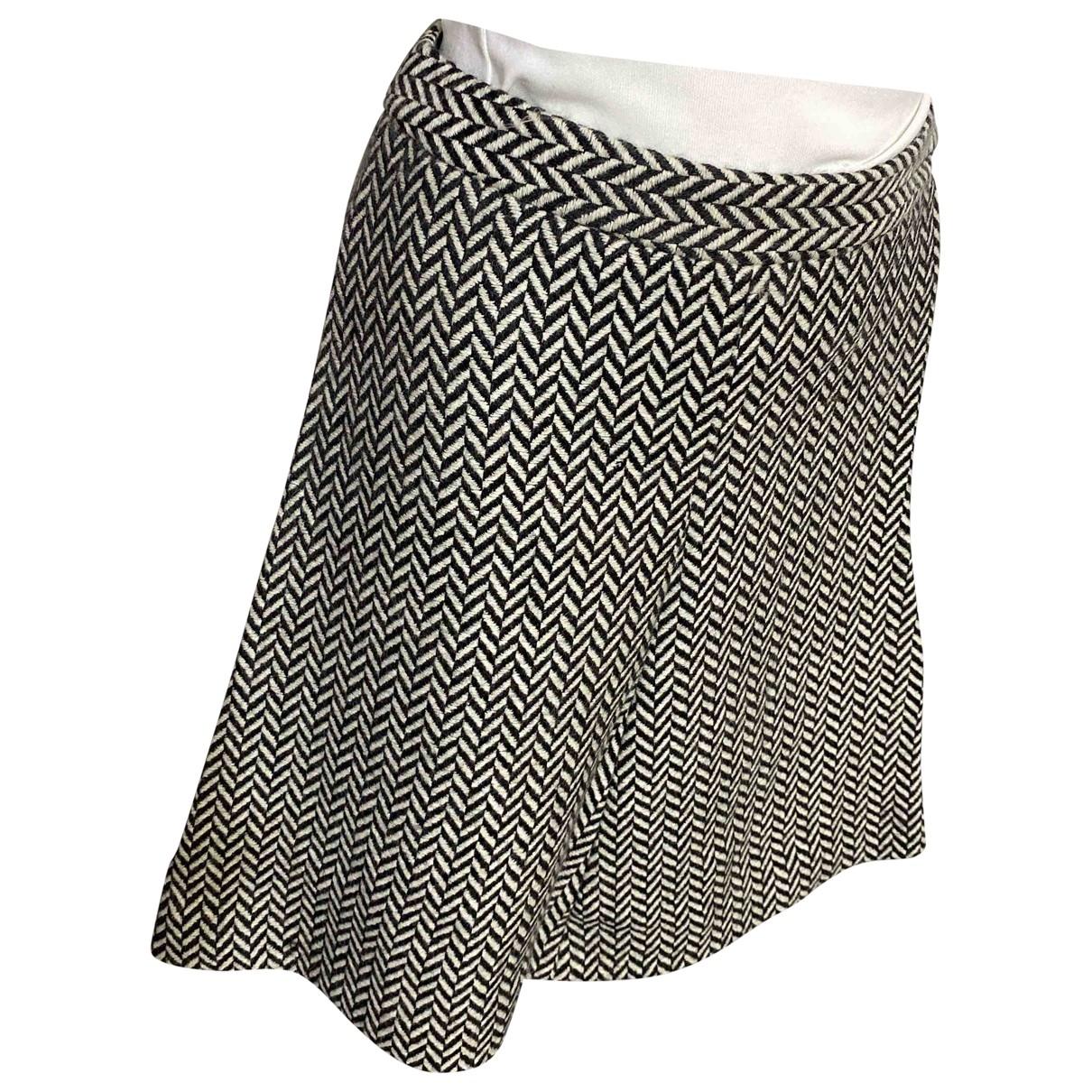 Falda midi de Lana Giorgio Armani