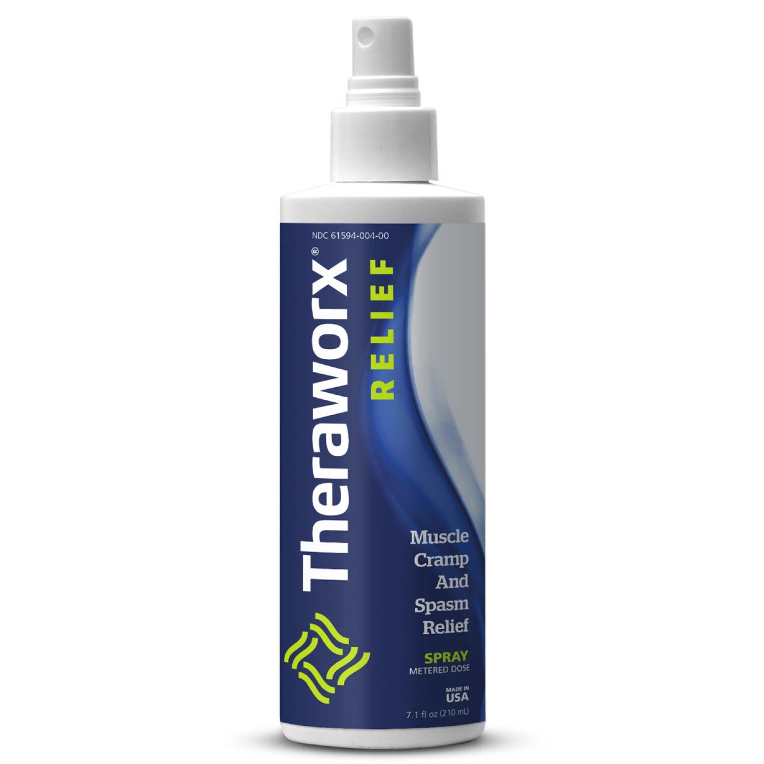Theraworx Relief for Muscle Cramps and Spasms Spray - 1