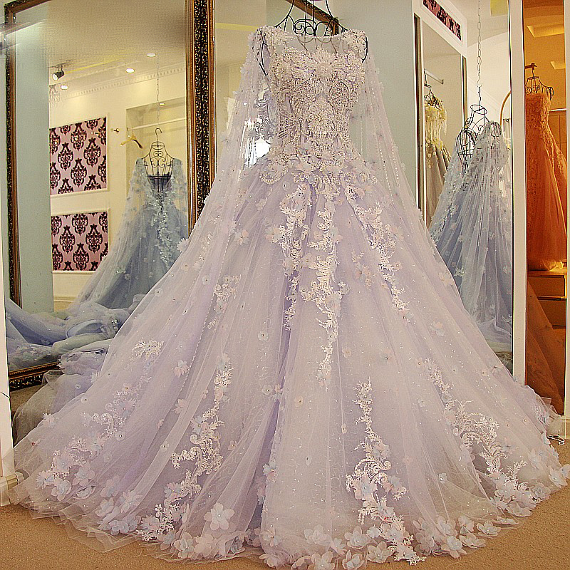 Lila Abendkleider Quinceauera Kleider | Wunderschone Abendkleider Spitze und Tull