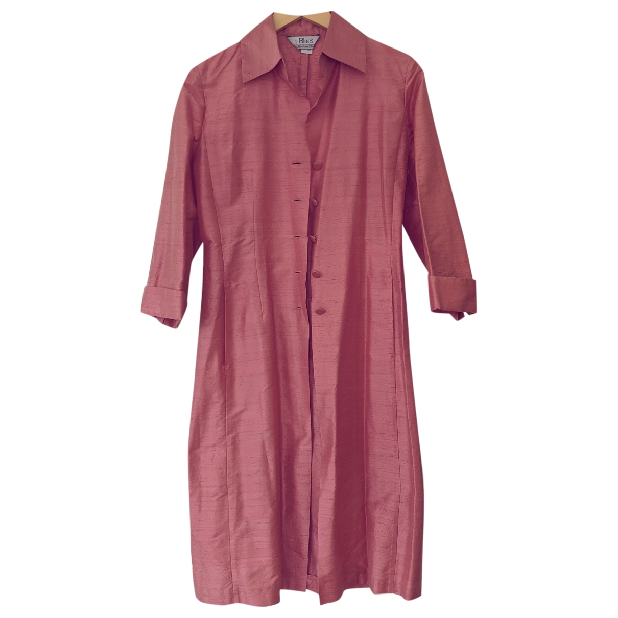 Non Signé / Unsigned \N Pink Silk jacket for Women 6 UK