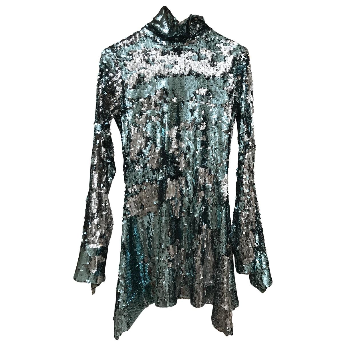Mini vestido de Con lentejuelas Halpern