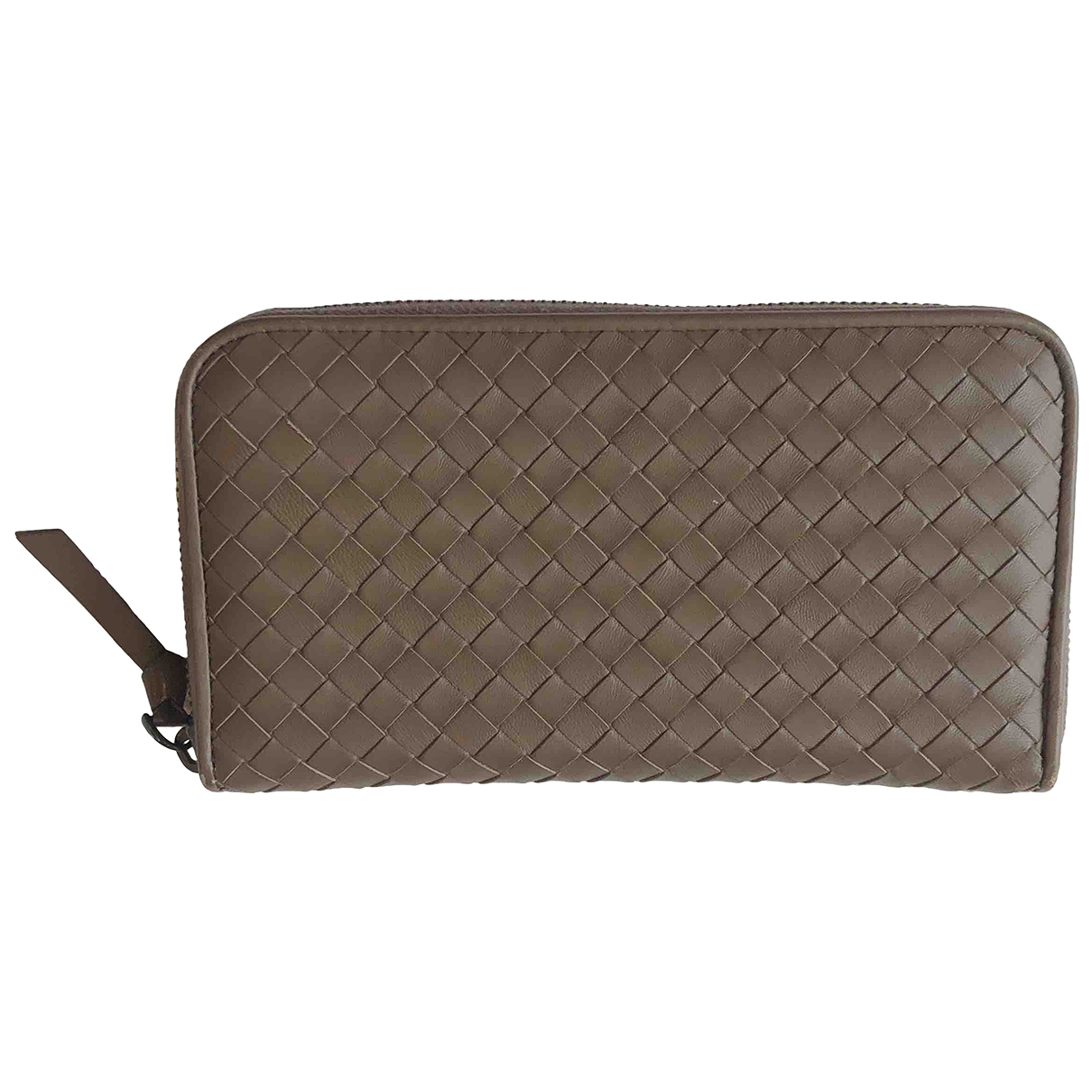 Bottega Veneta Intrecciato Brown Leather wallet for Women \N