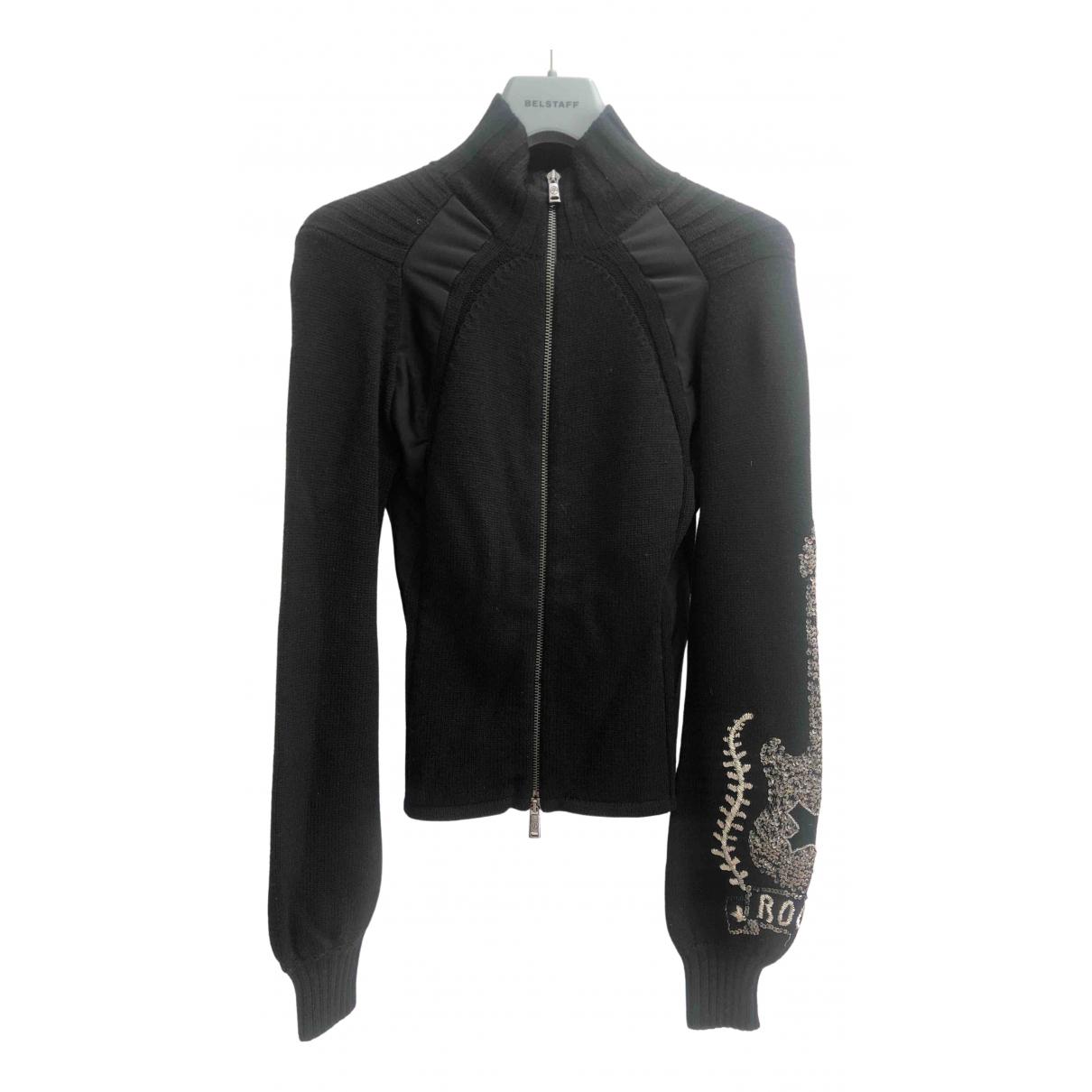 Jc De Castelbajac \N Black Wool dress for Women 40 IT
