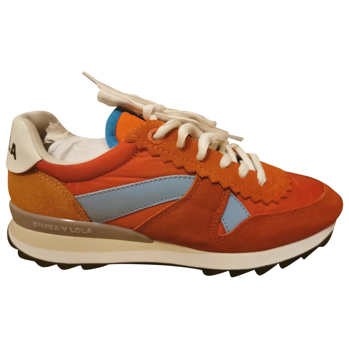 Bimba Y Lola \N Sneakers in  Bunt Leder