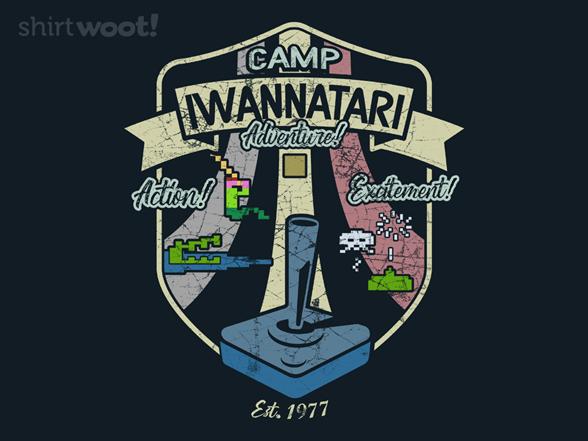 Camp Iwannatari T Shirt