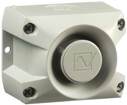 Pfannenberg PA 1 Grey 80 Tone Electronic Sounder ,230 V ac, IP66