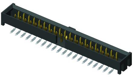 Samtec , Flex Stack STMM, 40 Way, 2 Row, Straight PCB Header (2)