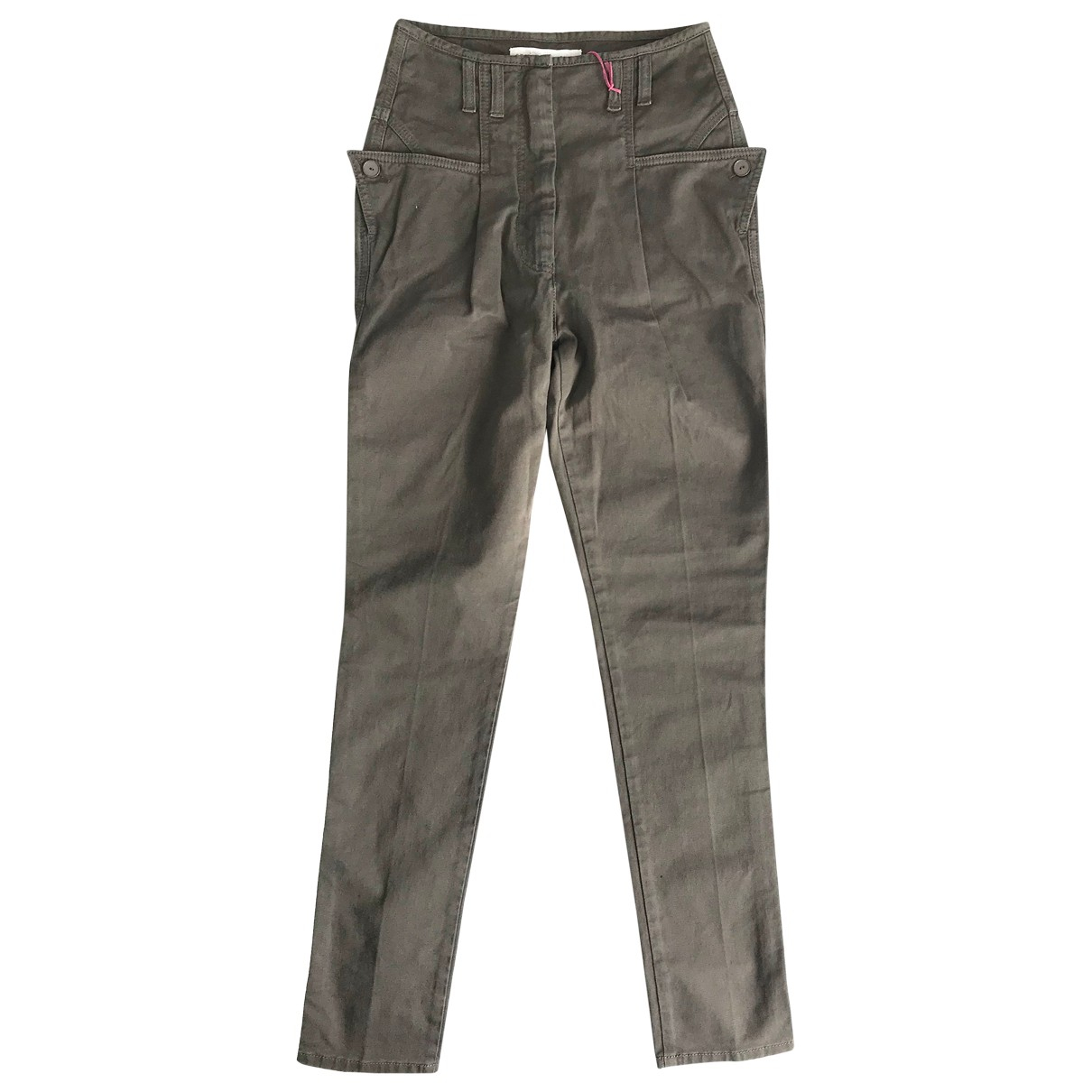 Stella Mccartney - Pantalon   pour femme en coton - kaki