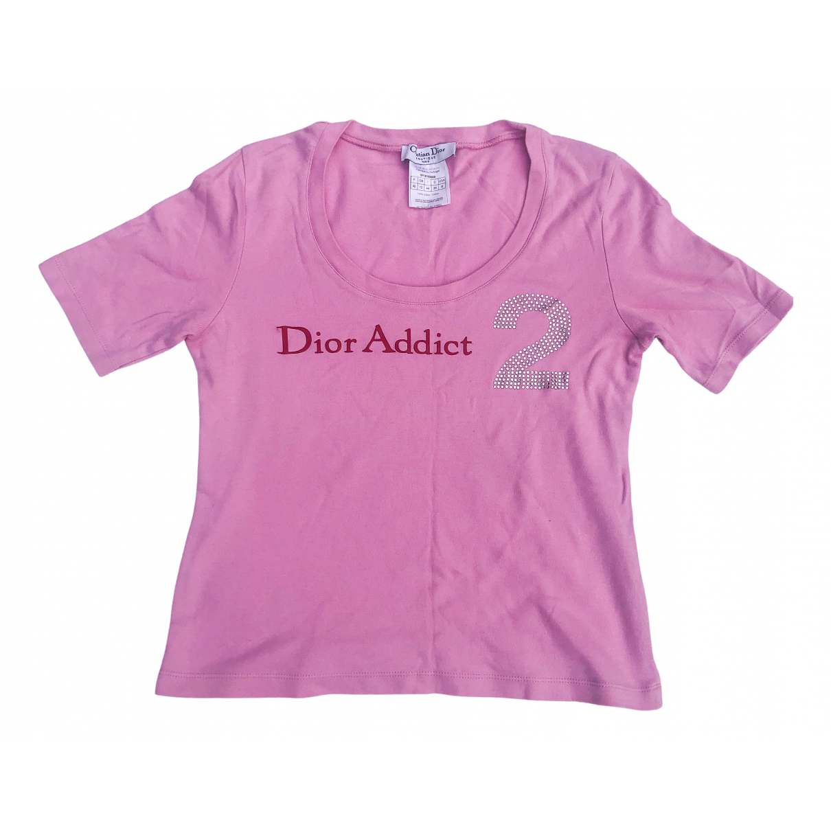 Dior \N Pink Cotton  top for Women 12 UK