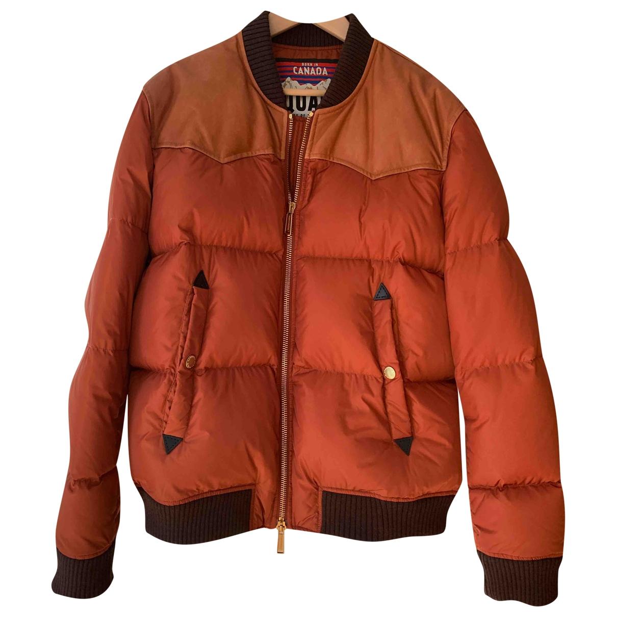 Dsquared2 - Manteau   pour homme - orange