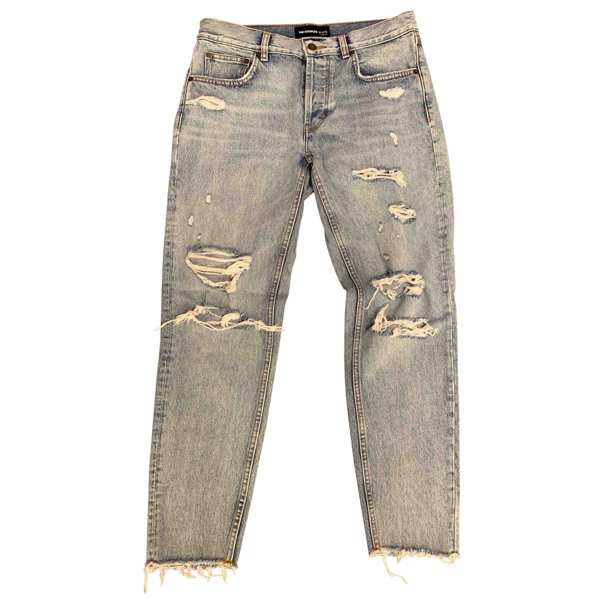 The Kooples Spring Summer 2019 Blue Denim - Jeans Jeans for Women 28 US