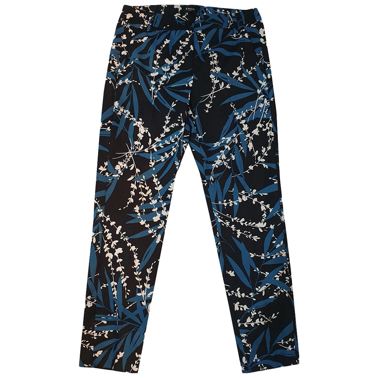 Marella \N Multicolour Trousers for Women 38 IT