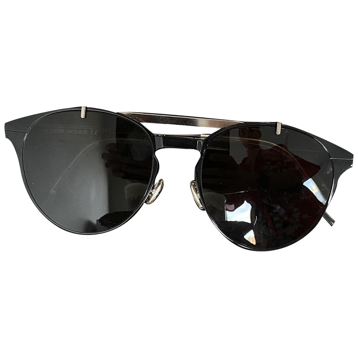 Dior Homme \N Black Metal Sunglasses for Women \N