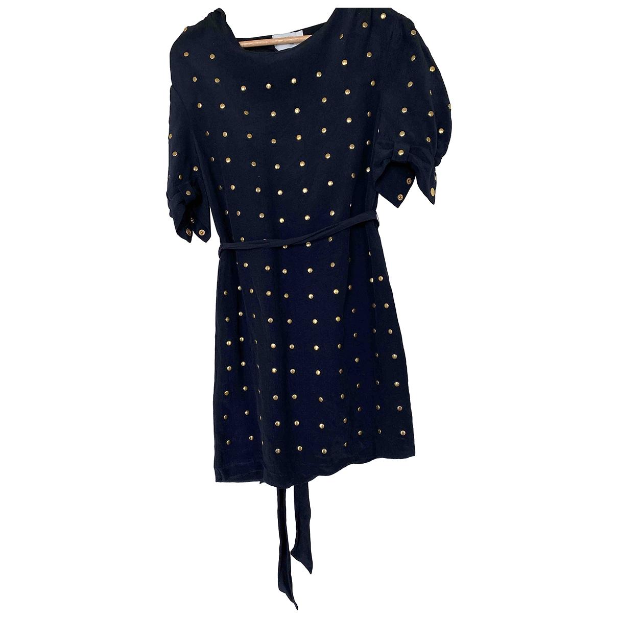 Alice By Temperley - Robe   pour femme en coton - noir