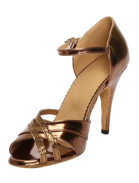 Milanoo Zapatos de bailes latinos de PU