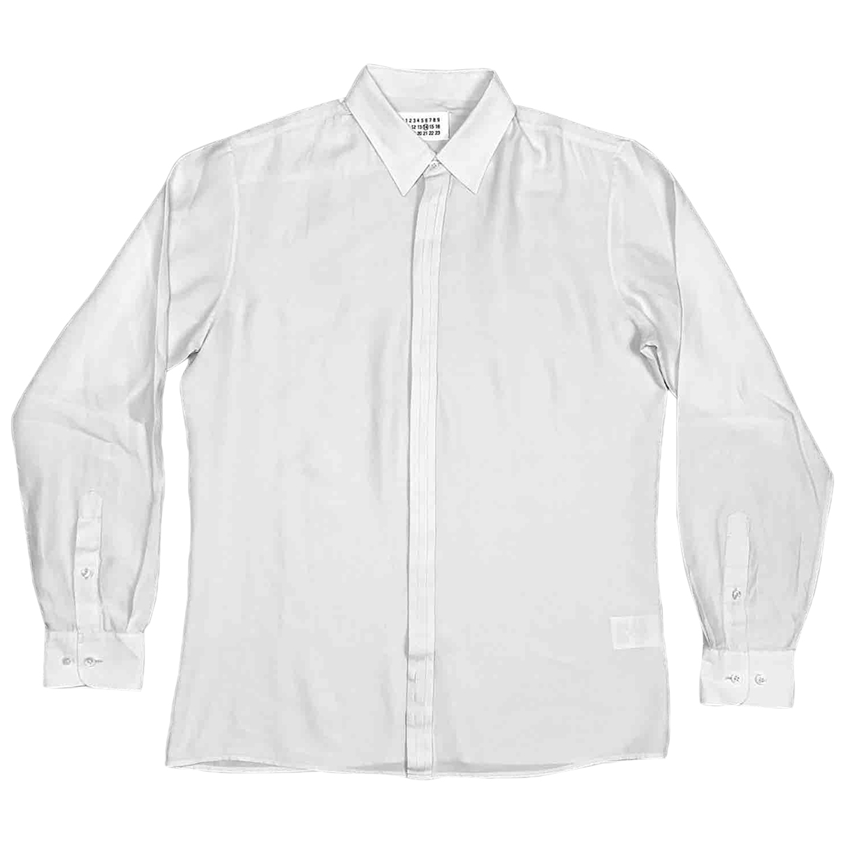 Maison Martin Margiela - Chemises   pour homme en coton - blanc