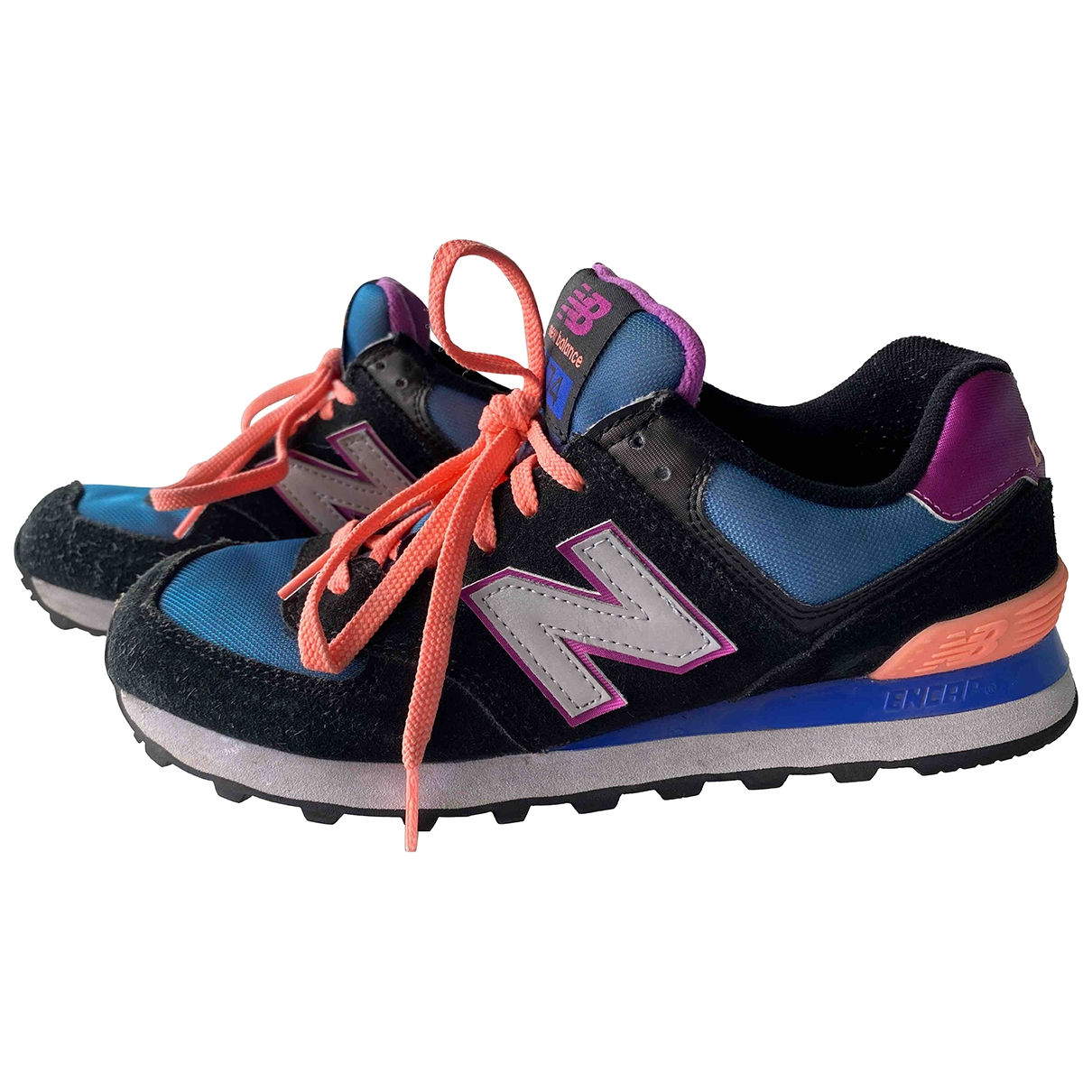 New Balance \N Multicolour Leather Trainers for Women 40 EU