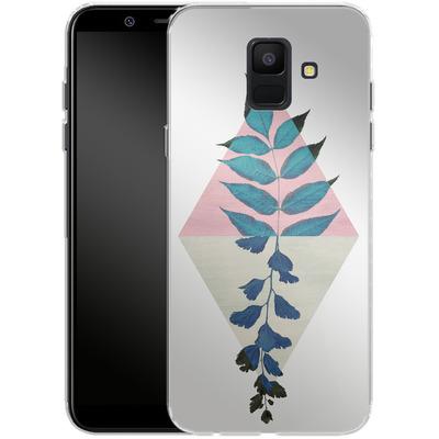 Samsung Galaxy A6 Silikon Handyhuelle - Geometry and Nature 1 von Mareike Bohmer