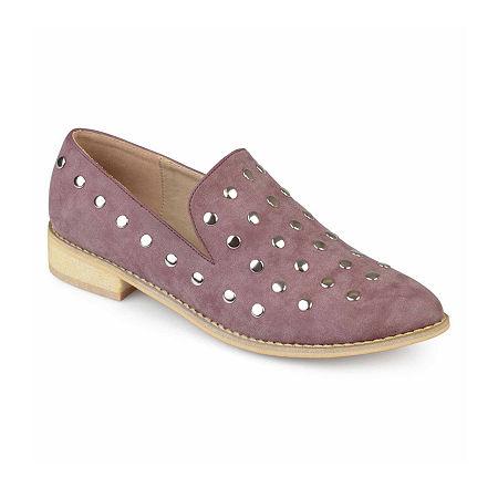 Journee Collection Womens Breeze Slip-On Shoe, 8 Medium, Purple