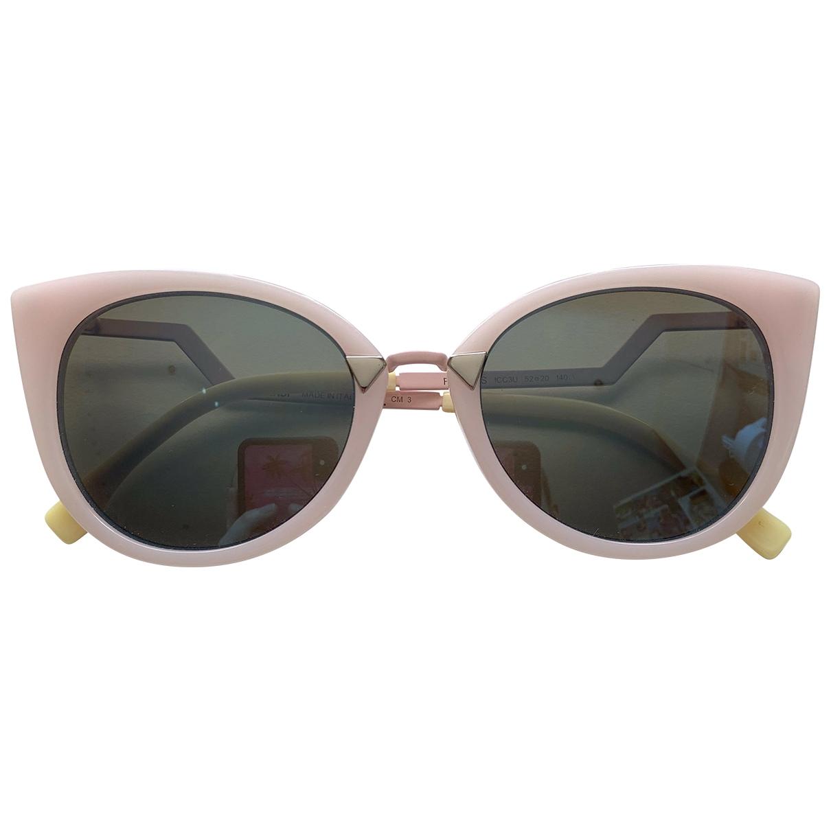 Fendi \N Sonnenbrillen in  Rosa Kunststoff