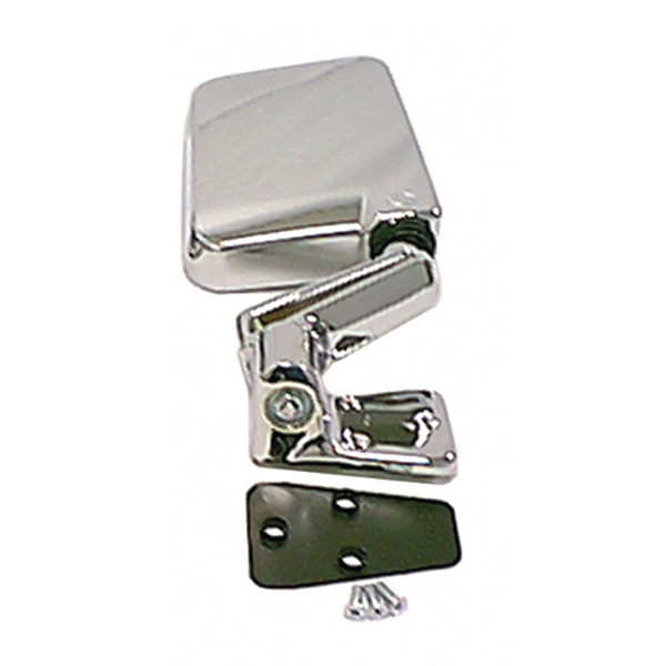 Rugged Ridge 11010.06 Door Mirror, Right, Chrome; 87-02 Jeep Wrangler YJ/TJ Jeep Wrangler