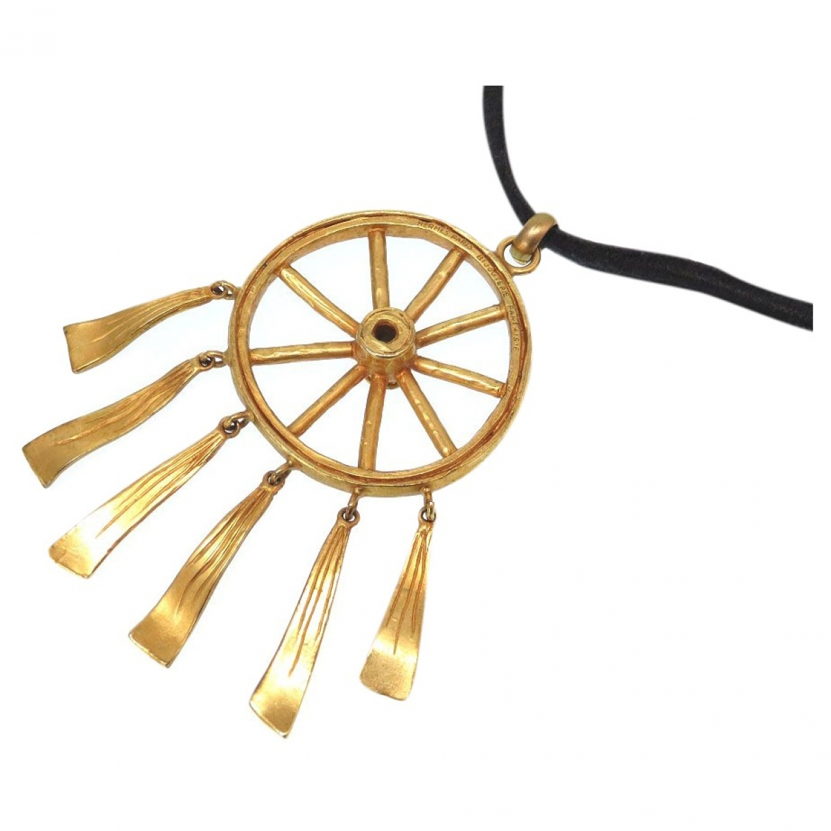 Hermès \N Gold Metal necklace for Women \N