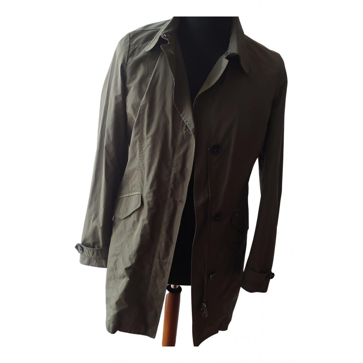 Woolrich \N Trench in  Gruen Polyester