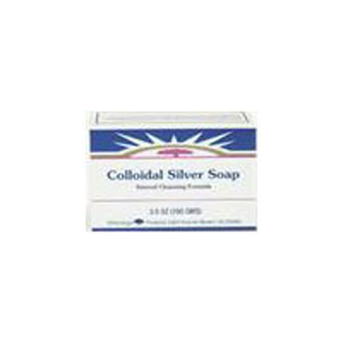 Colloidal Silver Soap Bar 3.5 OZ by Heritage Products