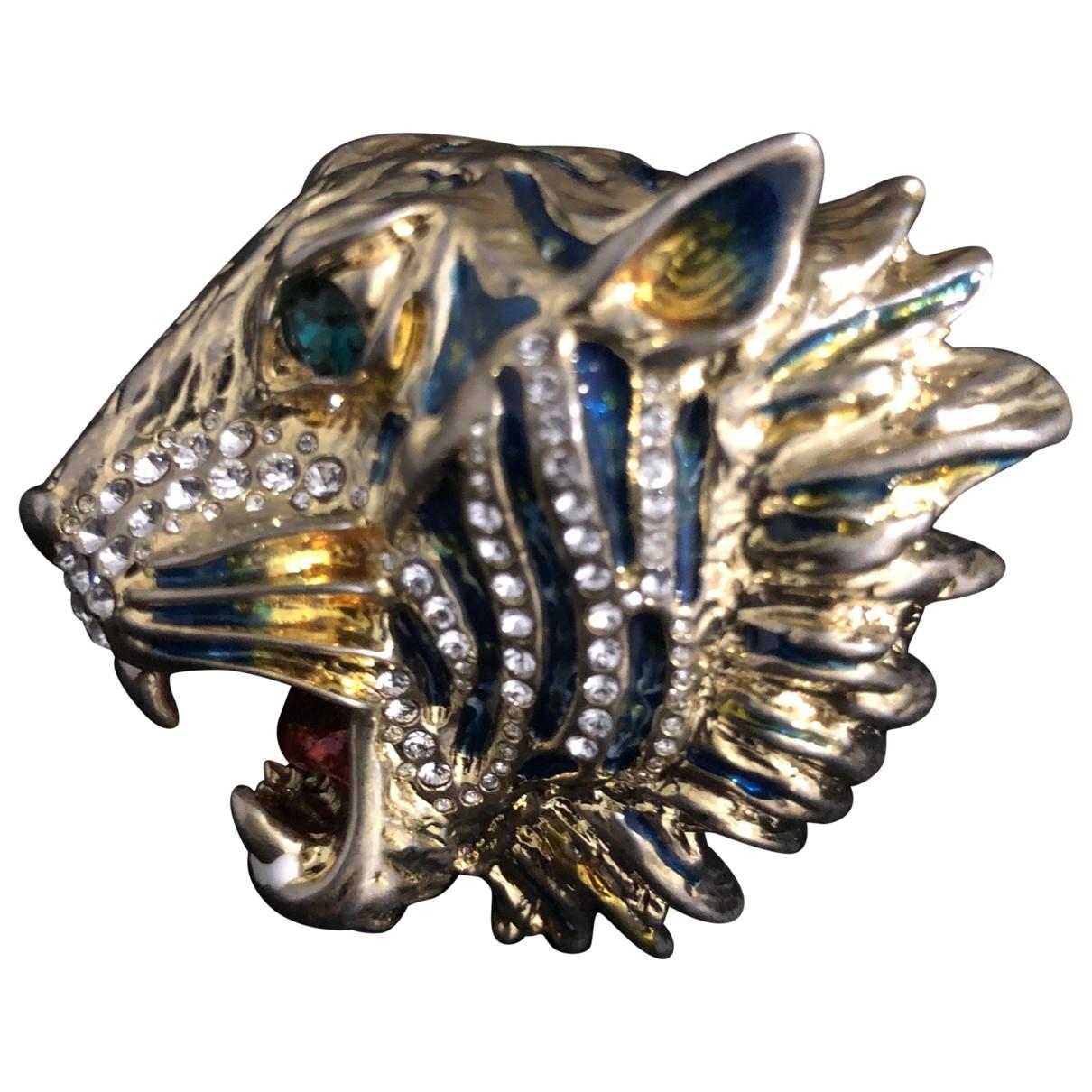 Gucci \N Gold Metal ring for Women 56 EU