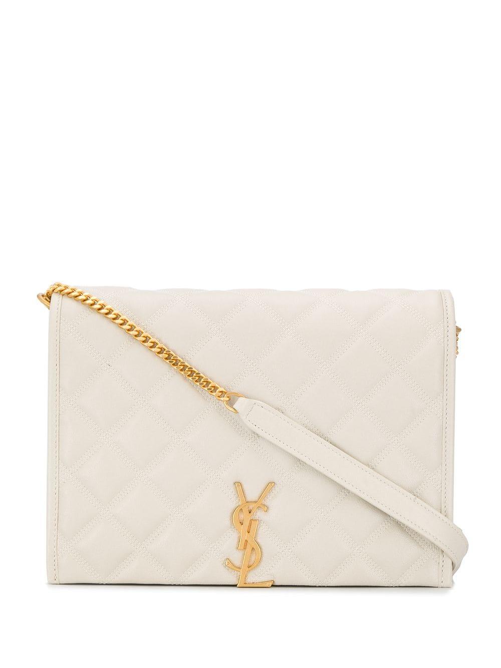 Monogram Becky Leather Shoulder Bag