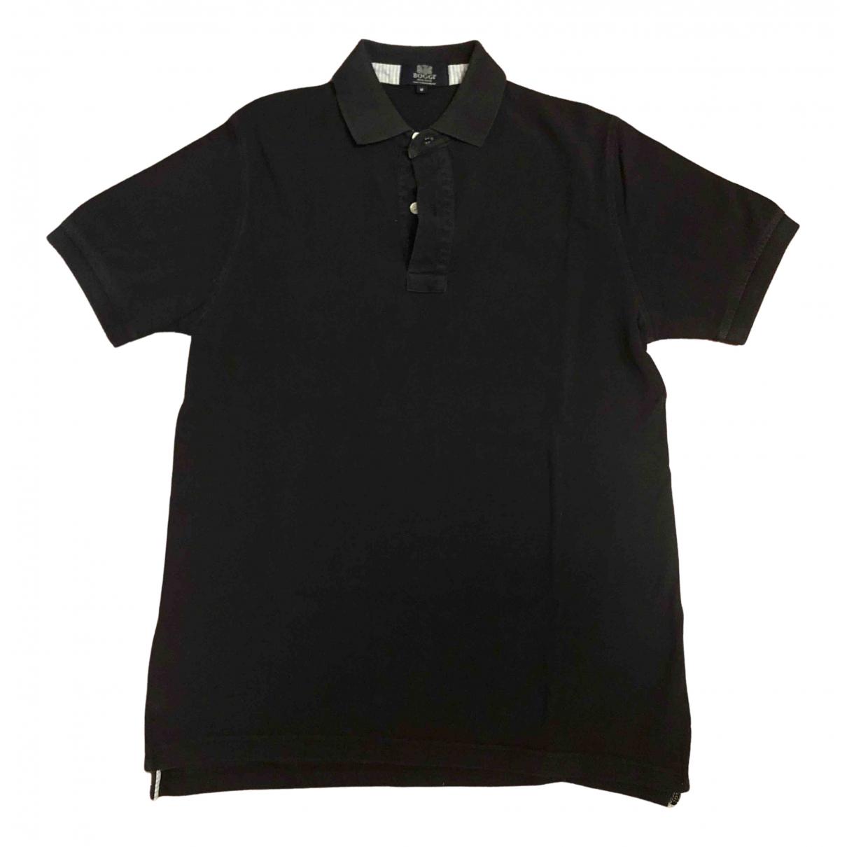 Boggi N Blue Cotton Polo shirts for Men M International