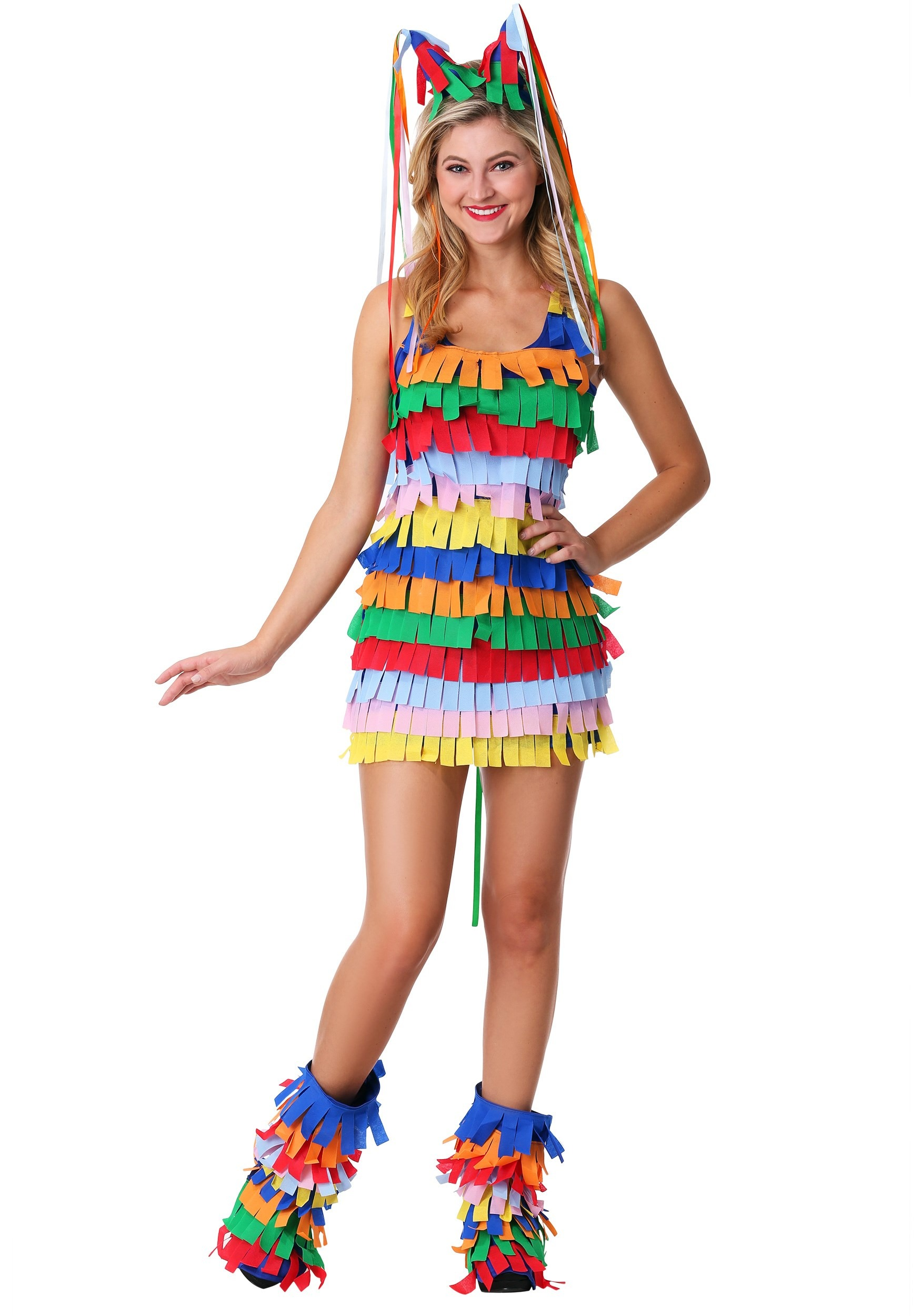 Sexy Plus Size Pinata Costume