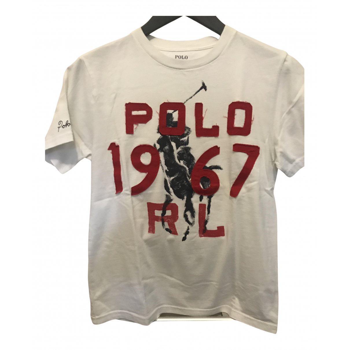 Polo Ralph Lauren N White Cotton  top for Kids 10 years - up to 142cm FR