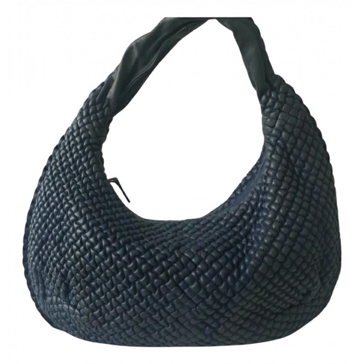 Bottega Veneta - Sac a main Veneta pour femme en cuir - bleu