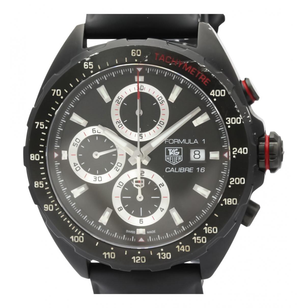 Tag Heuer Formula 1  Black Steel watch for Men \N