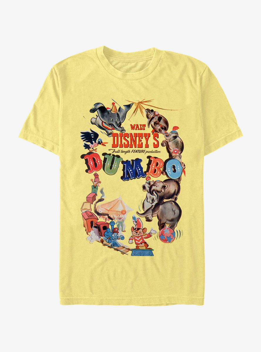 Disney Dumbo Theatrical Poster T-Shirt