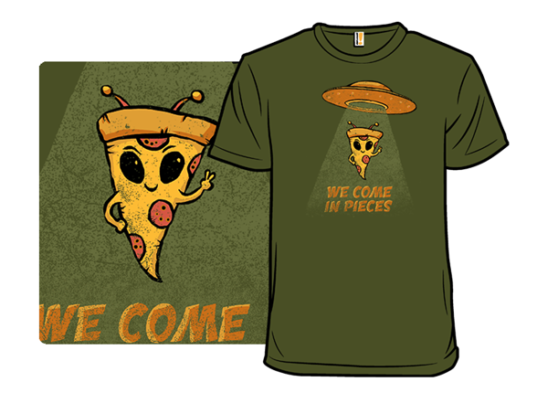 We Come In Pieces T Shirt