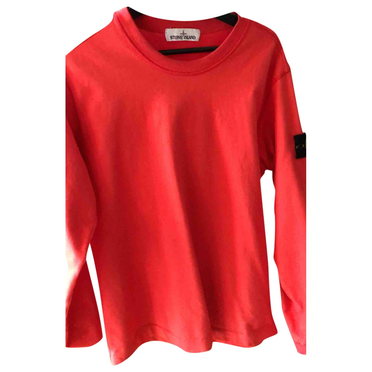 Stone Island \N Red Knitwear & Sweatshirts for Men S International